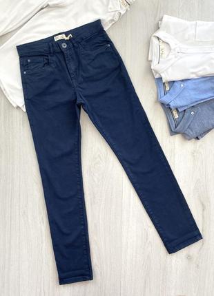 Темно-синие подростковые брюки для мальчика ovs kids италия