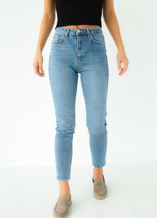Ультрамодные джинсы мом турция высокая посадка