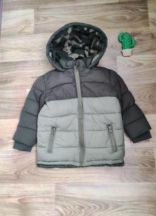 Теплая куртка евро зима. ,курточка на мальчика