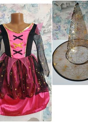 Платье ведьмочки ведьма карнавальный костюм на хэллоуин