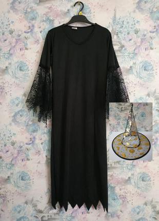 Платье колдуньи,ведьма,ведьмочка, карнавальный костюм на хэллоуин