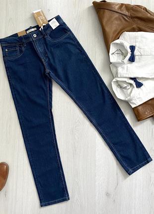 Синие джинсы straight fit для мальчика ovs kids италия