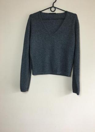 Шикарный брендовый свитер кофта шерсть и кашемир strenesse