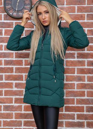 Куртка женская цвет зеленый
