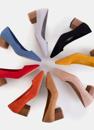 Женские туфли на каблуках san