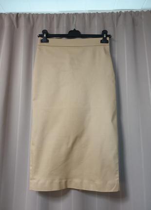 Бежевая юбка-карандаш calliope