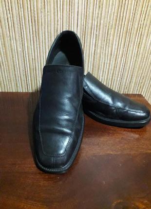 Мужские туфли лоферы geox sp оригинал