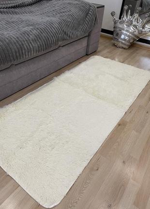Меховый ворсистый коврик 90*200 см