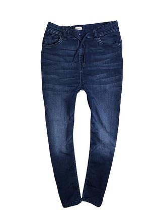 Мягкие джинсы f&f на 10-12л