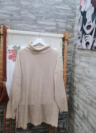 Тёплый свитер туника h&m
