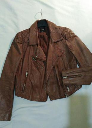 Куртка косуха из натуральной кожи