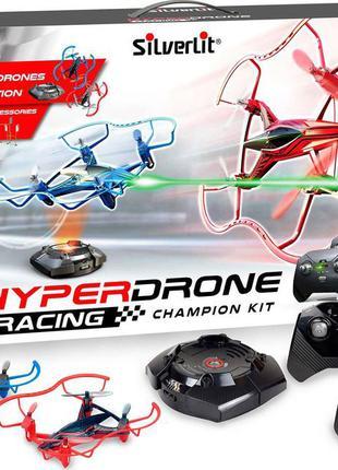 Гоночные боевые квадрокоптеры silverlit hyperdrone