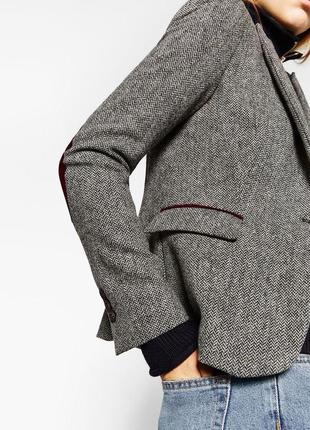 🔥🔥🔥скидка🔥🔥🔥шикарный шерстяной жакет пиджак