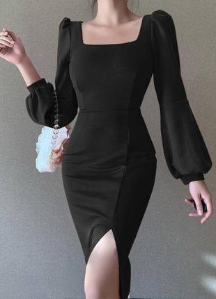 Силуетное платье футляр