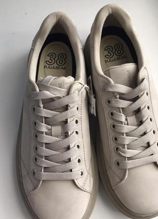 Новые оригинальные кожаные кроссовки