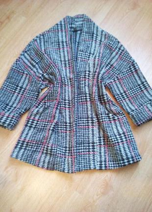 Стильное пальто кардиган.