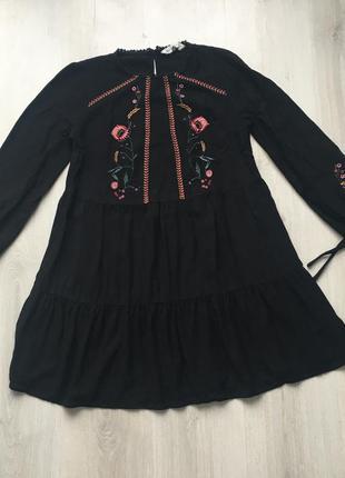 Красивое платье свободного кроя