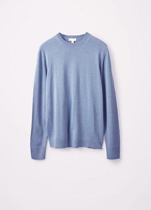 Идеальный базовый  шерстяной свитер cos