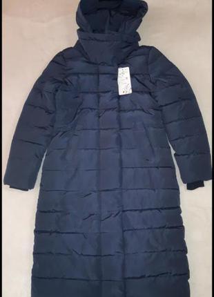 Темно-синяя куртка/польто еврозима
