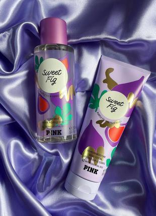 Спрей и лосьон sweet fig от pink vs 💜