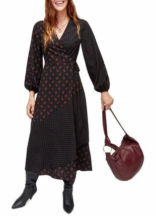 Шикарное миди платье с длинным рукавом