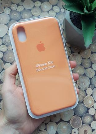 Чехол на iphone xr silicone case чехол для айфон