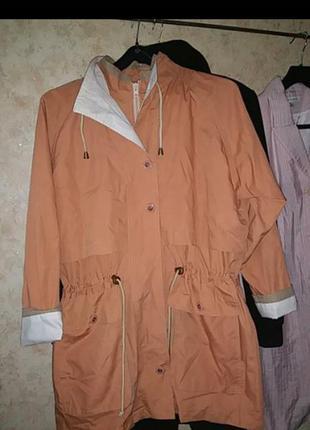Куртка парка винтаж ветровка