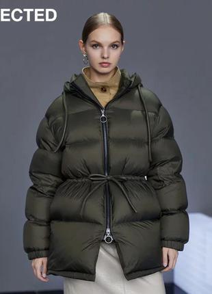 Куртка пуховик оверсайз selected femme оригинал