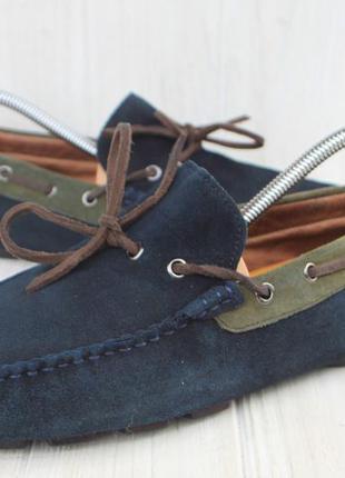 Мокасины geox замша италия 42р туфли