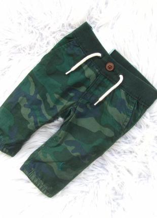 Джинсы штаны брюки армейские милитари камуфляжные gap