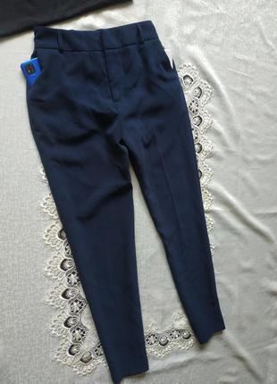 Зауженные брюки брючки штаны с боковыми карманами
