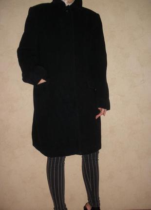 Натуральной шерсти пальто длиной до колена petite mademoiselle демисезон