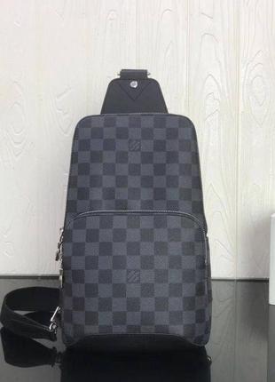 Мужская брендовая сумка слинг