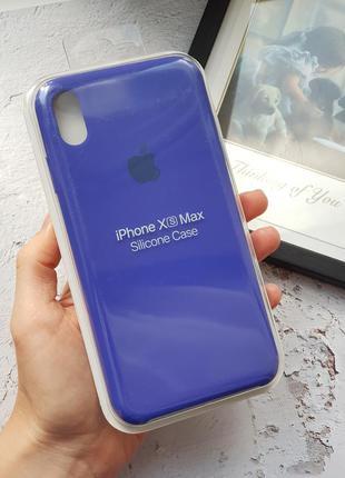 Чехол на iphone xs max silicone case чехол для айфон