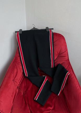 Эластичные леггинсы с высокой посадкой брюки лосины