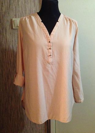 Шикарная блуза цвета пудры