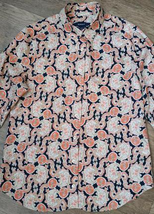 Женская блуза немецкого бренда гант. рубашка gant.