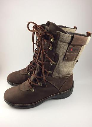 Ecco кожаные сапоги ботинки