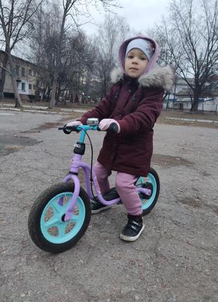 Велобег в идеальном состоянии(ножка и ручной тормоз)