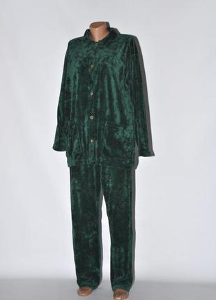 Пижама велюр для пышных форм