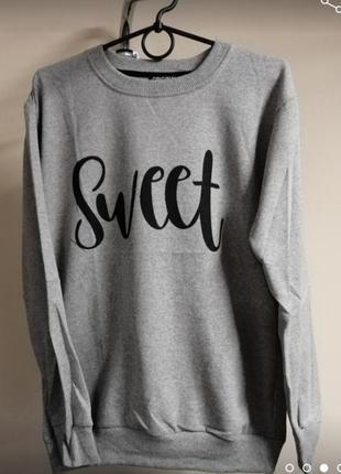 Женский свитшот свитер