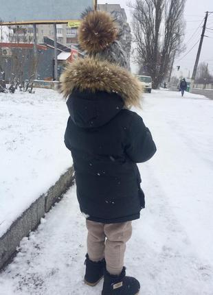 Куртка пуховик gap,zara. парка. шапка и хомут зима.