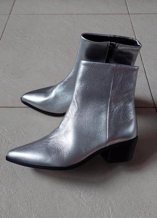 Ботинки # кожаные ботинки # ботинки казачки
