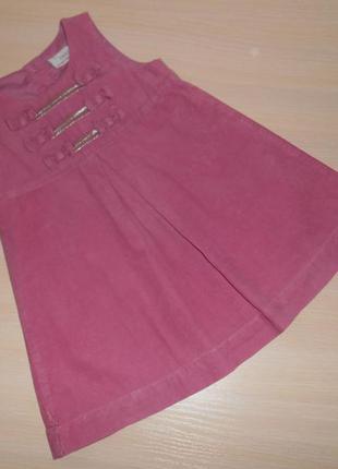 Нарядное платье, сарафан next 12-18 мес, 80-86 см, оригинал