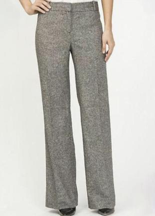 Тёплые брюки штаны клёш шерсть