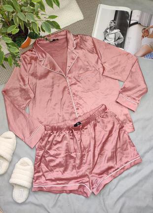 Пижама рубашка и шорты