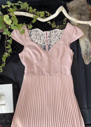 Шикарное платье, вечернее, пудровое, в пол, макси, нарядное
