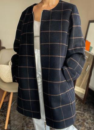 Шерстяное пальто elena miro оригинал
