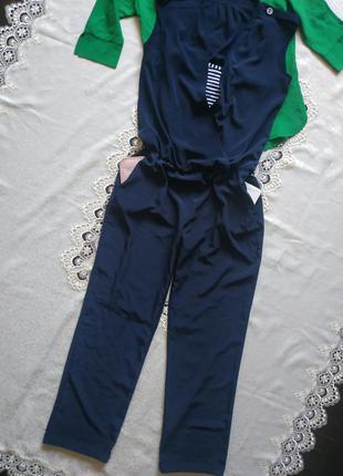 Стмльный комбинезон комбез с боковыми карманами