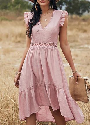 Летнее повседневное платье 7 расцветок